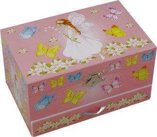 Magical Fairy Music and Jewelry Box