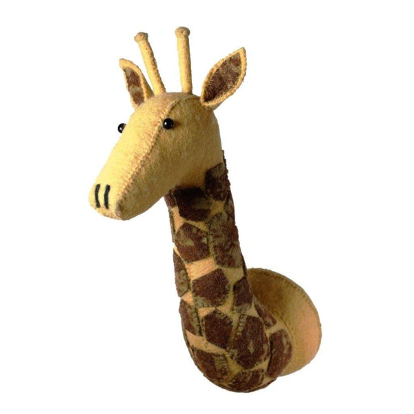 Giraffe Head Wall Decoration (mini)