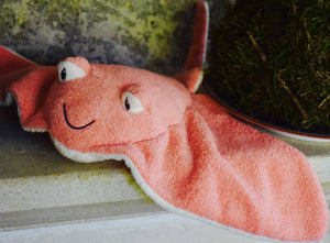 Pink Stingray Plush Toy