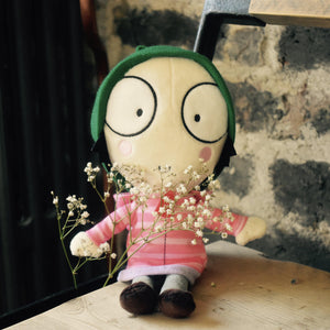 Sarah & Duck Big Eyes Sarah