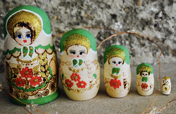 Christmas Russian Dolls