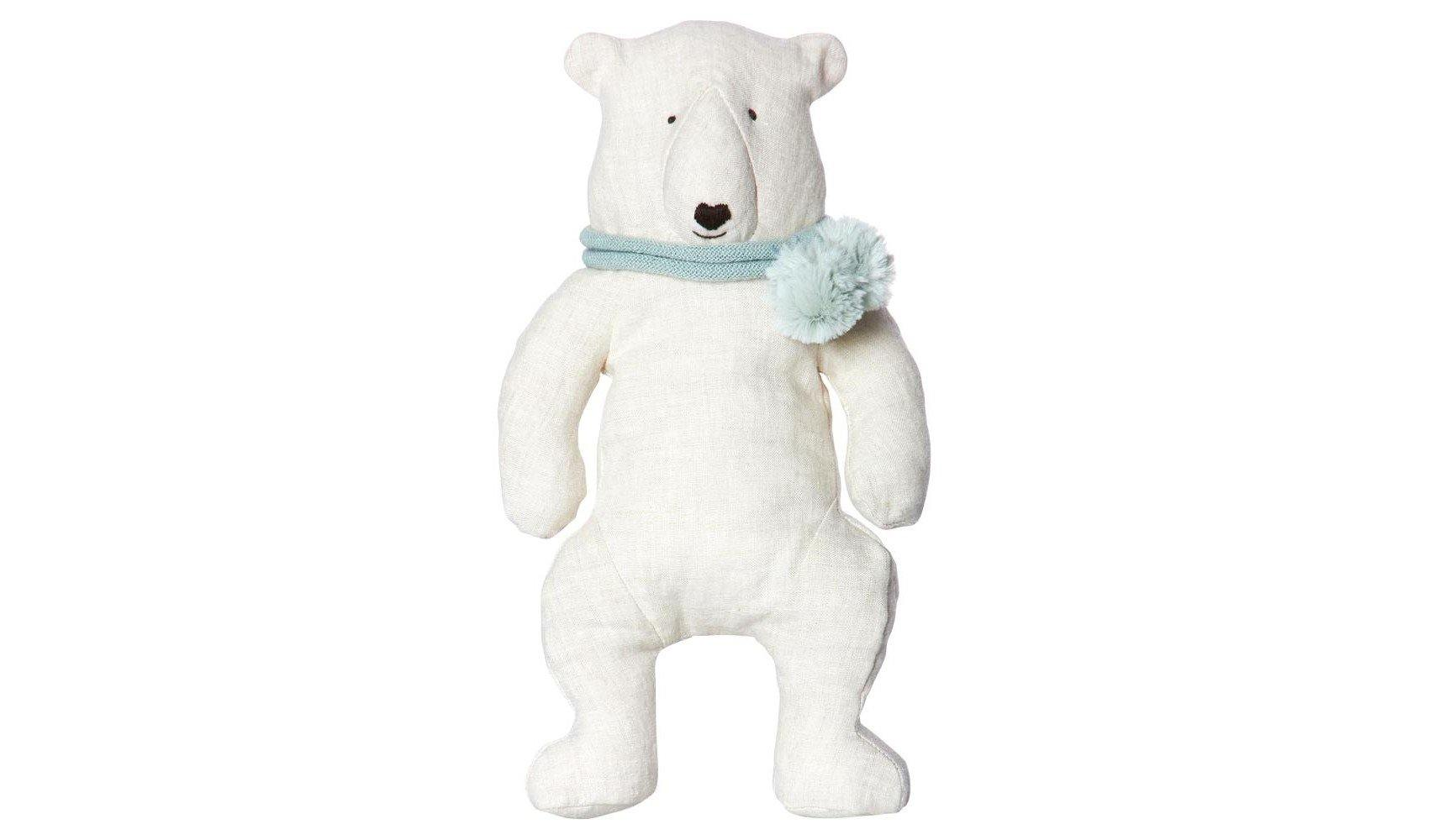 Polar Bear in Scarf
