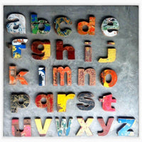 Wooden Letters made by Loula and Deer