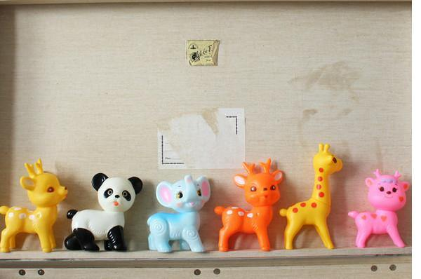 Little Animal Toys Recycled Plastic made by Lapin & Me