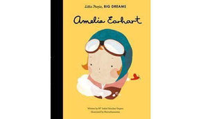 Amelia Earhart Children's Book made by Loula and Deer