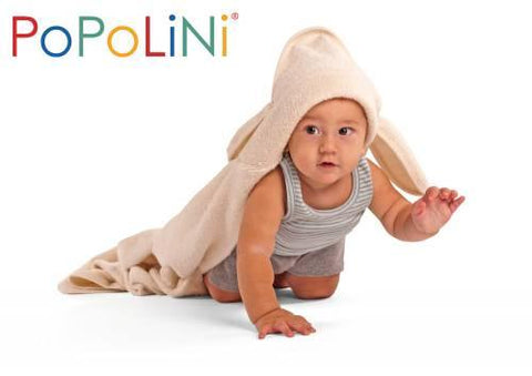 Bunny Ears Hooded Bath Towel made by Popolini
