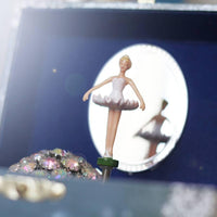 Ballerina Musical Jewellery Box made by Trousselier