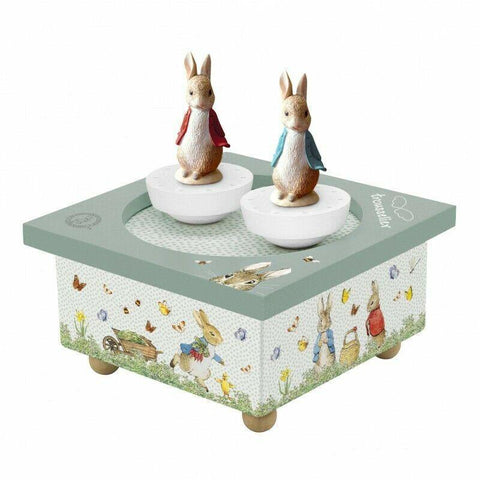 Dancing Peter Rabbit Music Box
