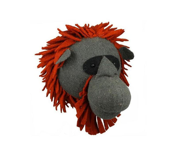 Orangutan Head Wall Decoration (Large)