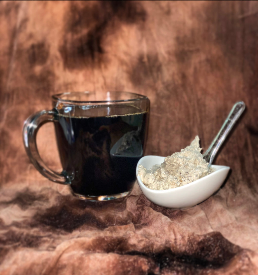 Haitian Gold iced coffee scrub