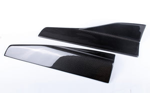 short REAL Carbon fiber Side skirts For BMW E46 E60 E39 E87 E90 E92 F30 G30