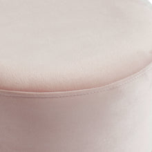 Load image into Gallery viewer, Violet Ottoman Blush Pink/Gold
