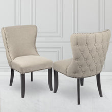 Load image into Gallery viewer, Sophia Dining Chair Beige Linen