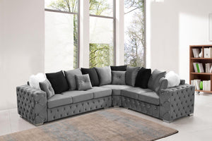 Dyson Tufted Sectional Suite