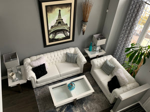 Rio Tufted Sofa Set