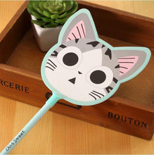 Load image into Gallery viewer, Moody Cat Head Pen. - Safelyfe  Face mask chain pakistan ppe 3m dany fashion meltblown daraz davago south city aku kids stationery blanket