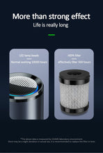 Load image into Gallery viewer, Mini Air Purifier with HEPA and UVC. - Safelyfe  Face mask chain pakistan ppe 3m dany fashion meltblown daraz davago south city aku kids stationery blanket