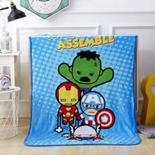 Load image into Gallery viewer, Avengers Blankets - Safelyfe  Face mask chain pakistan ppe 3m dany fashion meltblown daraz davago south city aku kids stationery blanket