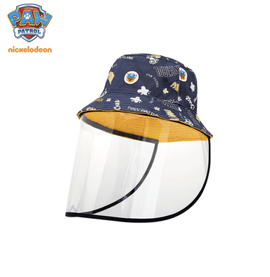 Paw Patrol Hat with face shield 3-10 years - Safelyfe  Face mask chain pakistan ppe 3m dany fashion meltblown daraz davago south city aku kids stationery blanket