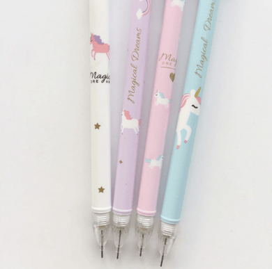 Magical Unicorn Mechanical Pencils Bottom Click - Safelyfe  Face mask chain pakistan ppe 3m dany fashion meltblown daraz davago south city aku kids stationery blanket
