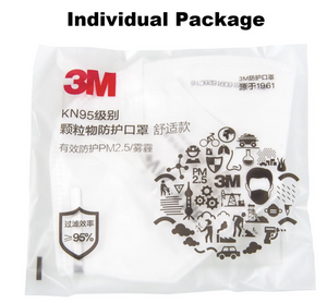 3M KN95 9501V individually packed. - Safelyfe  Face mask chain pakistan ppe 3m dany fashion meltblown daraz davago south city aku kids stationery blanket