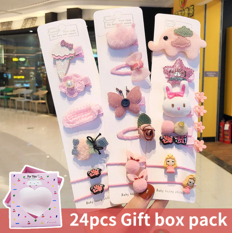 Pink 24 pc cute collection
