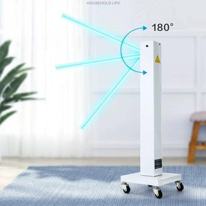 150W germicidal lamp free moving 180 degree with wheels - Safelyfe  Face mask chain pakistan ppe 3m dany fashion meltblown daraz davago south city aku kids stationery blanket