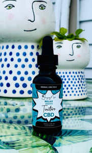 """Relax"" 1000MG  CBD Isolate Tincture"