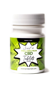 "50MG ""Full Spectrum"" CBD Tablets"
