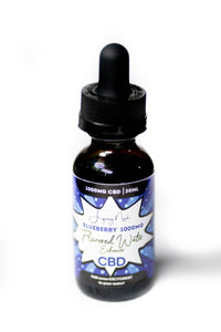 """Blueberry"" 1000MG  CBD Flavored Water Enhancer"