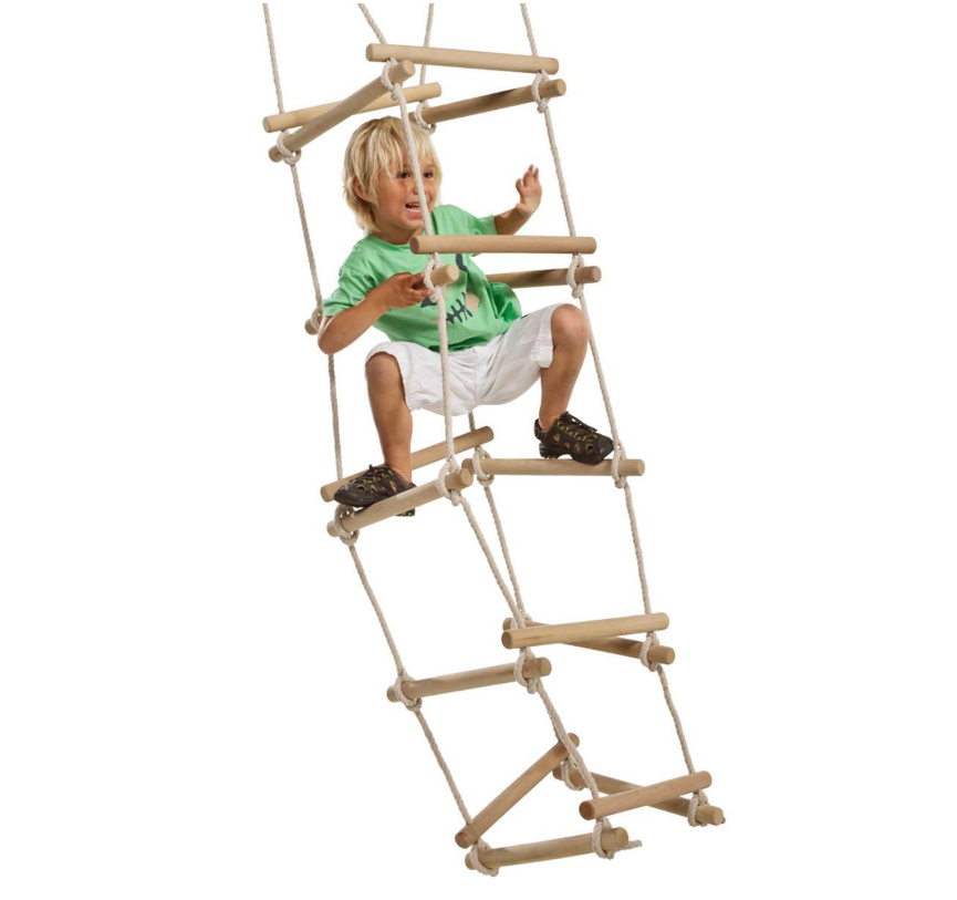 Kbt Kids Wooden Rung Four Sided Rope Ladder