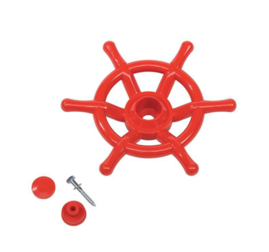 KBT Boat Steering Wheel - Red