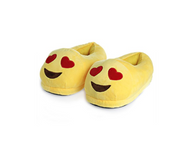 Heart Eyes Emoji Slippers Extra Small Size 13 to 1