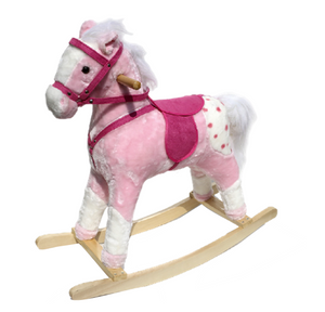 Rocking Horse in Pink - Princess Dreams
