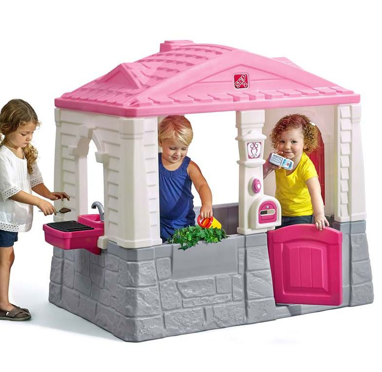 Step 2 Neat and Tidy Cottage Playhouse Pink