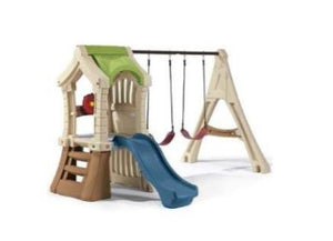 Step 2 Play Up Gym Set Refresh with Slide and Swings