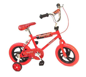 "Peerless 12"" Kids Spidey Senses Bike - Red"