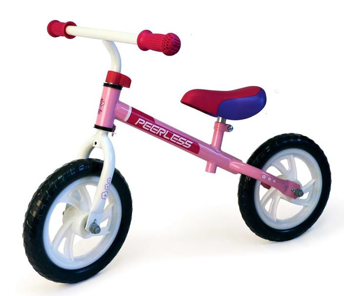 Peerless Kids 12 inch Girls Balance Bike