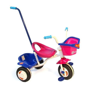 Sunny Pink Trike with Bucket & Tray