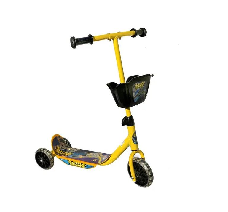 Battle Space Kiddies Adventure Scooter - Yellow