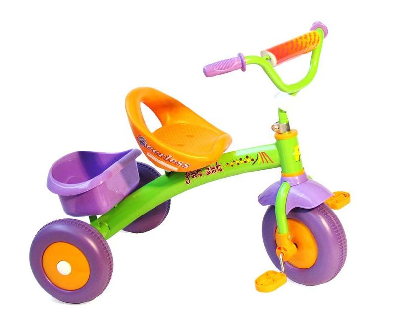 Fat Cat Kids Trike - Orange & Green