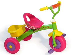 Fat Cat Kids Trike - Pink & Green