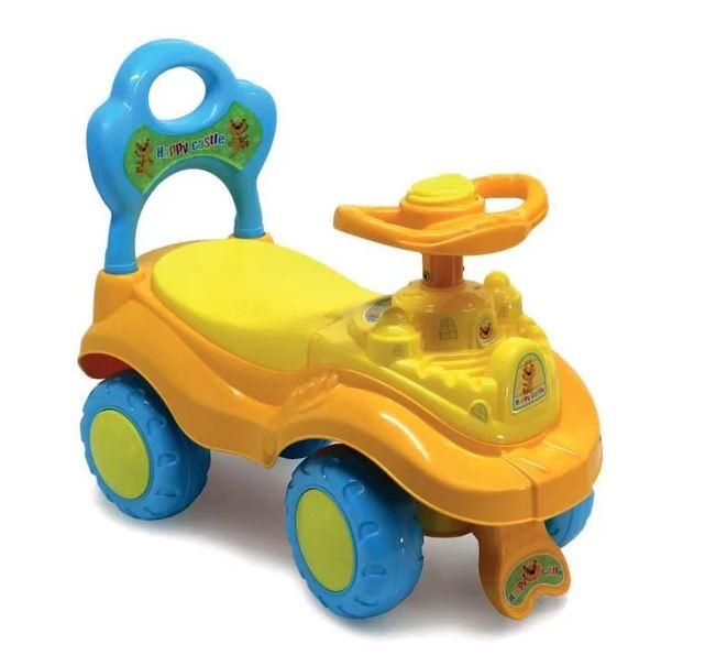 Ride On Happy Castle Push Car with Parent Easy