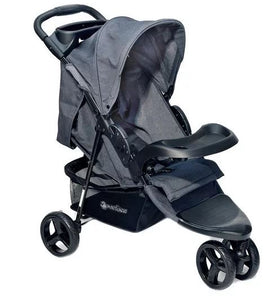 Lightweight Baby Pram Pushchair Buggy 3 Wheel Stroller