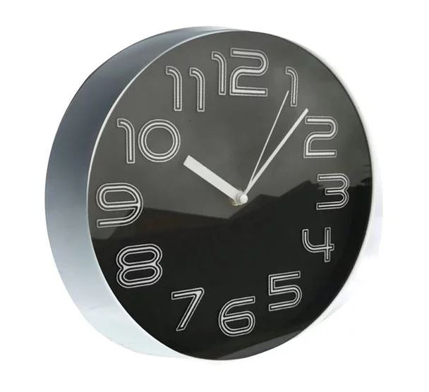 Black Home Decor 3 Dimensional Analogue Kitchen Wall Clock