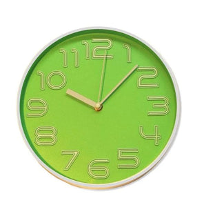 Home Decor 3 Dimensional Analogue Kitchen Wall Clock