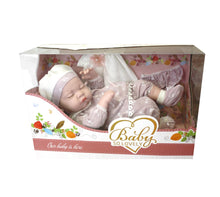 Load image into Gallery viewer, Baby So Lovely Newborn Sleeping Baby Doll