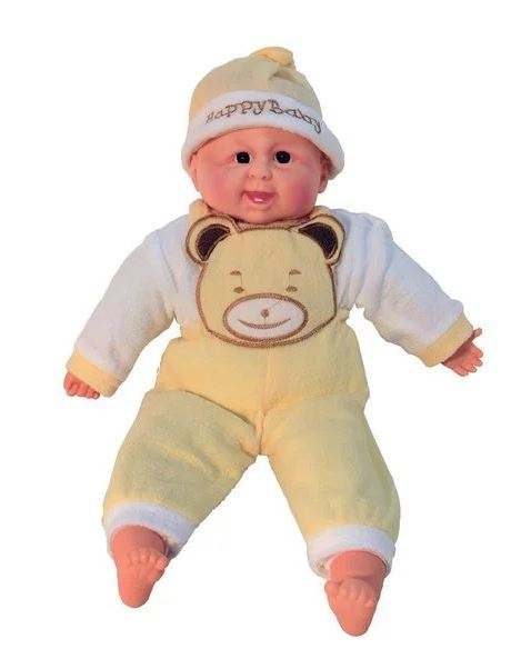Large Gorgeous Soft-Belly My First Baby Doll - Beige