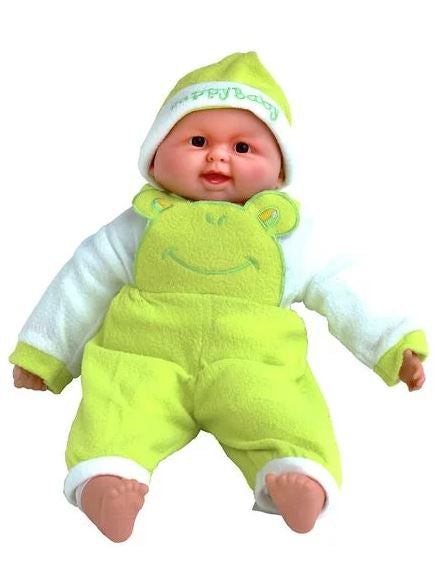 Large Gorgeous Soft-Belly My First Baby Doll - Green
