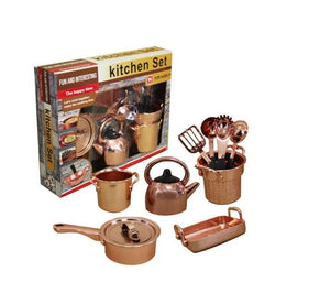 Stylish Pretend Play Kitchen Cookware Set for kids